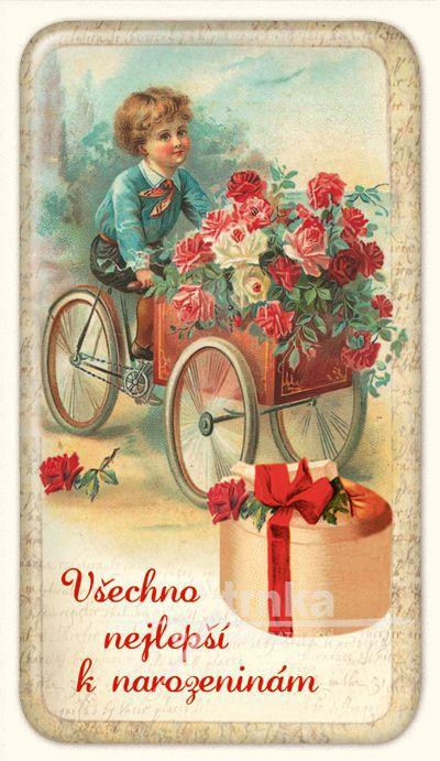 nejlepší k narozeninám MagVšechno nejlepší k narozeninám, krabice 50 x 90 mm/NB nejlepší k narozeninám